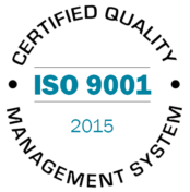 ISO 9001 2015 certified quality management system